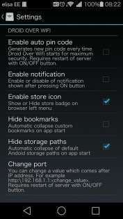 Droid Over Wifi 1.6.4