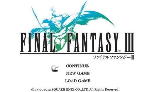 Final FANTASY III 1.02