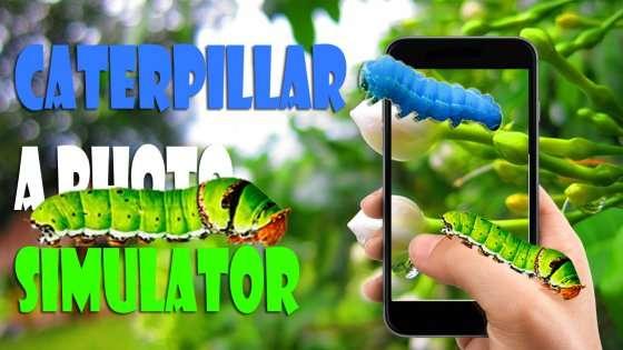 Гусениця На Фото Екрані 1.0