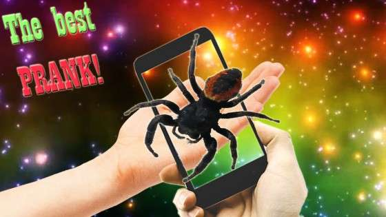 Павук На Руці Супер Пранк 2.0