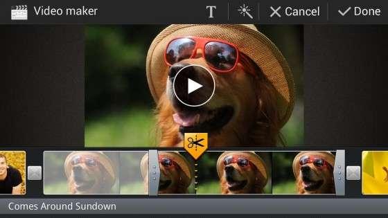 Samsung Video Editor 6.0.1