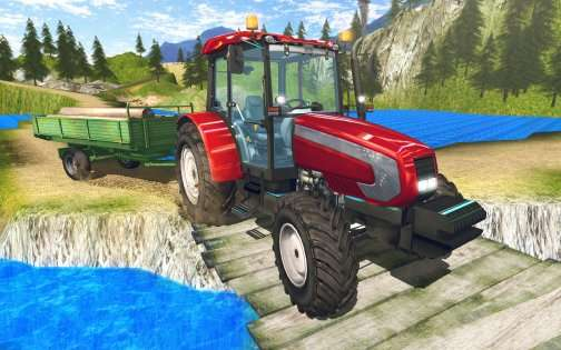 Tractor Driver Cargo 3D 1