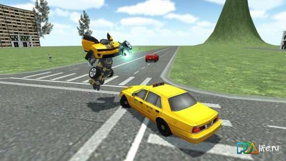 Transformer Car Robot v2