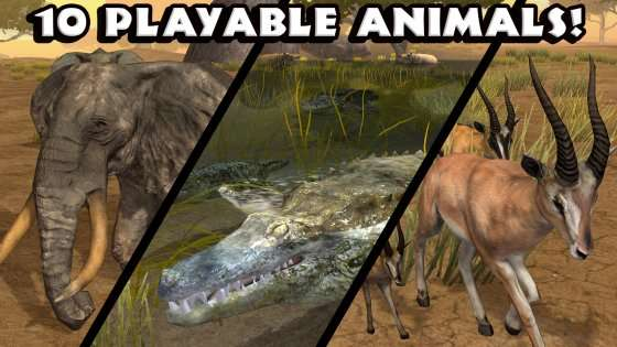 Ultimate Savanna Simulator 1.1